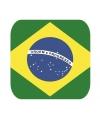 Landen bierviltjes Brazili� 15 st
