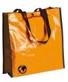 Oranje eco shopper
