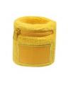Polsbanden met rits geel