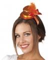 Diadeem met oranje hoedje