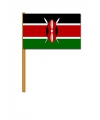 Kenia decoratie zwaaivlag