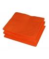 Tafelversiering oranje servetten 20 stuks