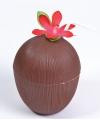 Tropische Kokosnoot bekers