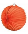 Ronde lampionnen oranje