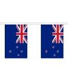 Vlaggenlijn Nieuw zeeland 9m