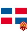 Dominicaanse Rep landen vlag