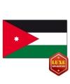 Jordanese landen vlag