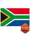 Landen vlaggen van Zuid Afrika
