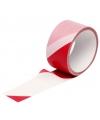 Markeerlint rood/wit 25m