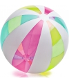 Mega grote strandballen in neon kleuren 107 cm