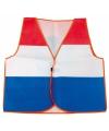 Koningsdag vestje in de Hollandse kleuren