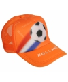Supporters pet Holland oranje
