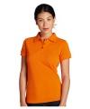 Goedkope oranje dames polo