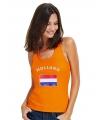 Oranje dames singlets Holland