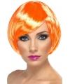 Oranje damespruik met boblijn