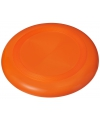 Frisbee in de kleur oranje