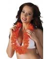 Voordelige oranje hawaii krans