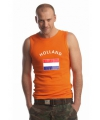 Oranje heren singlets Holland