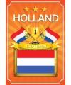 Feestartikelen poster Holland