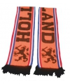 Holland WK sjaals oranje enkel gedrukt 140 cm met leeuwen