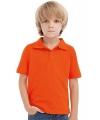 Koningsdag Oranje polo shirt kinderen