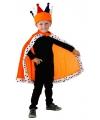 Koninklijke oranje cape voor kinderen