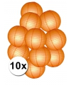 Oranje versiering pakket lampionnen