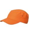 Oranje leger petten voor volwassenen