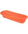 Oranje mandje 37,5 cm