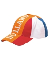 Holland oranje petten geborduurd volwassenen