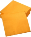 Oranje decoratie servetten 50 stuks