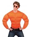 Oranje supporters spier shirt