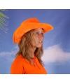 Holland hoed oranje cowboyhoed