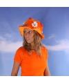 Holland hoed oranje dameshoed