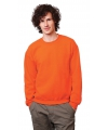 Gildan trui oranje voor volwassenen