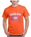 Koningsdag heren shirt Nederland oranje