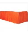 Feestartikelen tafel rand oranje