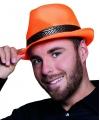 Koningsdag hoed oranje trilby