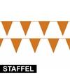Bulk oranje vlaggenlijnen