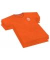 Servet in t-shirt vorm KNVB