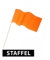 Oranje vlaggetjes 12 x 23 cm