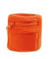 Polsbanden met rits oranje