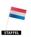 Zwaaivlaggetjes plastic Holland vlag