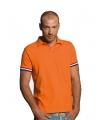 Oranje Holland polo heren