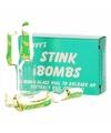 Stinkbommen fopartikelen