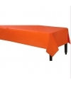 Afneembaar tafelkleed oranje 140 x 240 cm