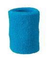 Gekleurde zweetbandjes pols turquoise