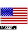 Amerikaanse versiering pakket groot