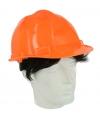 Oranje bouwvakkershelm