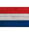 Vintage Nederland versiering poster A1